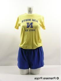 Unisex Thick-Knit Jersey P.E. Shorts
