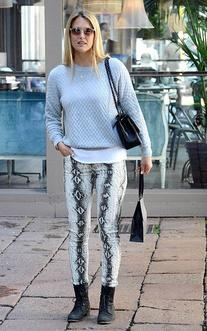 Knitted Quilted Sweat