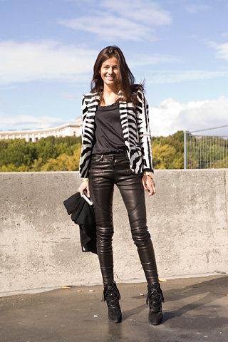 Fall 2008 RTW Zebra Print Jacket