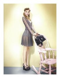 Spring 2010 Grey Knit Dress