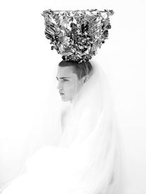 Fall 2007 Couture Crown Veil