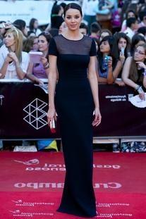 De La Renta Spring 2013 RTW Gown With Illusion Top