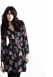 Lowe Printed Shirt Dress