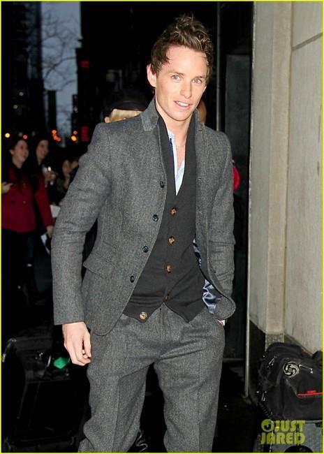 Blue Miller Skinny Suit Jacket