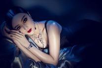 Saphire and Diamonds Bracelet
