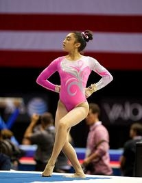 Pink Rush Competition Leotard