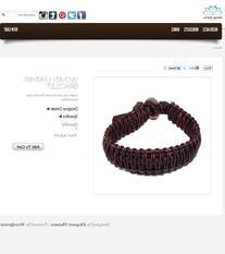 Patel Woven Leather Bracelet
