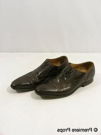 Brown Leather Wing Tips