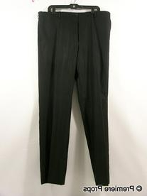 Navy Self Ribbed Two Piece Suit