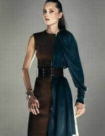 Spring 2011 RTW Stretch Washed Gabardine Dress