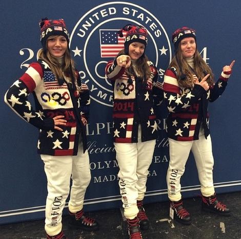 Team USA Ceremony Boots