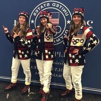 Team USA Ceremony Reindeer Hat