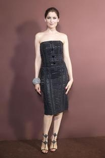 Fall 2011 RTW Corseted Dress Made with Cotton Ribbons &