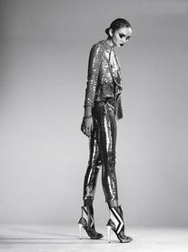 Spring 2012 RTW Sequined Pants