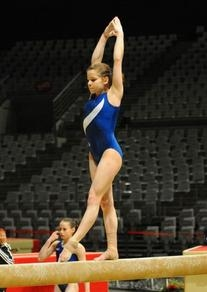 Adidas Royal Blue Sash Leotard
