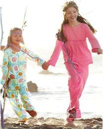 Ruffle-Trimmed Knit Pajamas