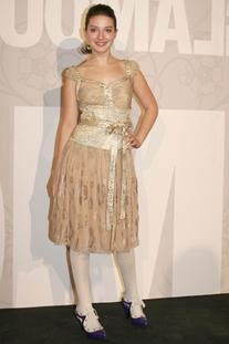 Josep Font Fall 2006/2007 Golden Dress