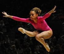 Pink Olympic All Around  Leotard