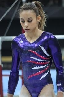 Blue Ribbons Leotard