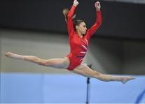 Red Ribbons Leotard