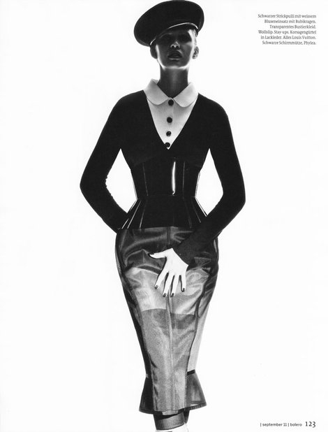 Fall 2011 RTW Corset Belt