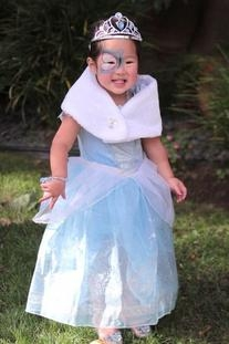 Light-Up Ball Gown Cinderella Shoes