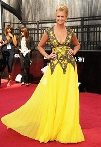 Chagoury Couture Spring/Summer 2012 Delicated Yellow Gown