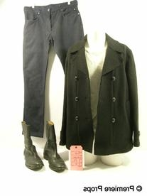 Collection Black Double Breasted Peacoat