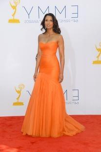 Resort 2013 Bright Orange Gown