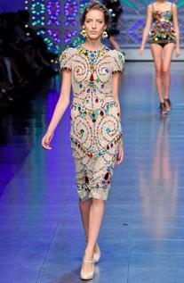 Spring 2012 RTW Jewelled Dress