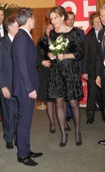 Luc.Duchene Black Velvet Dress