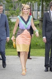 Spijkers en Spijkers Spring 2013 Sleeveless Colourful Dress