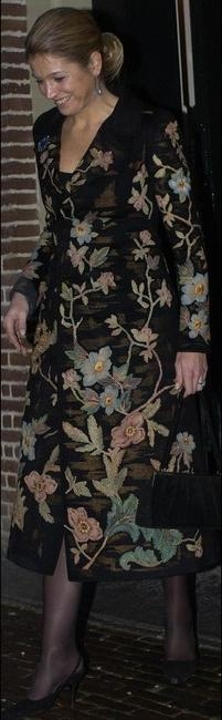 Fall 2002 Couture Floral Coat