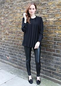 Glassworks Pleated Blouse