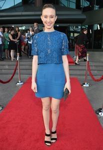 Pre-Fall 2013 Blue Dress