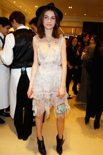 Fall 2010 Ready-to-Wear Ruffle Dress