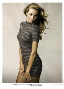 Fall 2010 Grey Printed Bodysuit