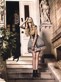 RTW Spring 2010 Tweed Bell-Shaped Dress