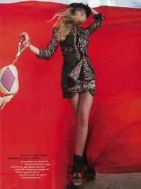 Spring 2010 RTW Tweed & Canvas Skirt