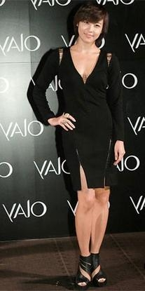 Fall 2010 RTW Plunging Lace-Up Details Black Dress