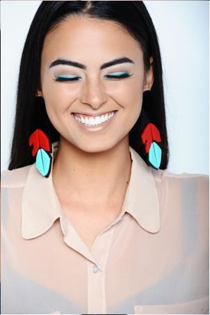Ehsani Native Feather Earrings