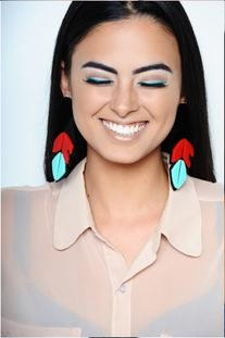 Ehsani Native Feather Earrings