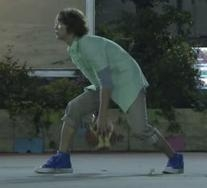 Skagway Denim Hi Sneakers